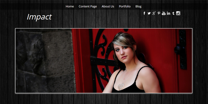 Photography Website layouts, choose your theme