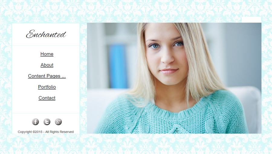 Professional Photography Template Enchanted