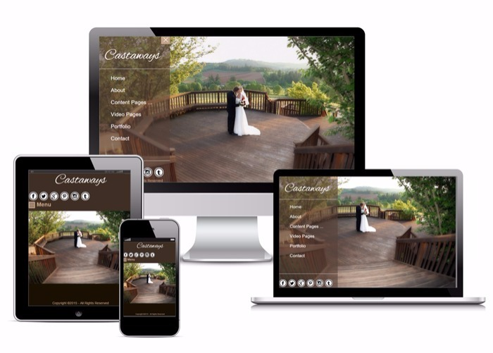 MorePhotos responsive photography website